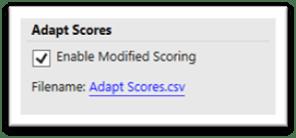 Adapt Scores