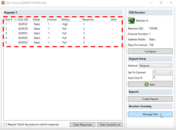 IML Click System Manager