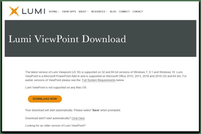 Lumi ViewPoint Download
