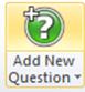 add new question symbol
